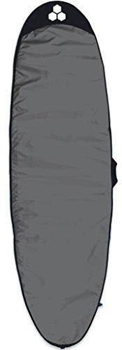 Channel Islands Surfboards Featherlite Long Board Surfboard Bag, Charcoal/White, 9'6″
