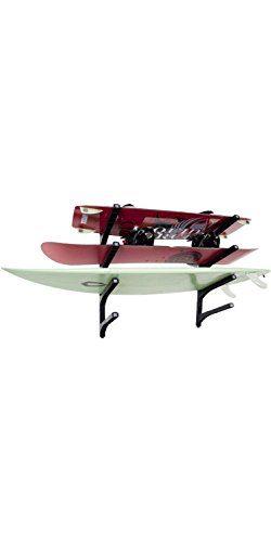 Nice Rack Quad Surfboard Wall Rack – (Four Boards)