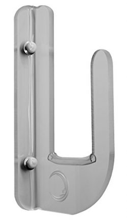Flush To Wall Clear Acrylic Horizontal Wall Mounted Boardrack! For Boards Without Fins Or Fins F ...