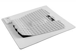 Own the Wave 3-Piece Grip Pad w/ Wax Comb – Arctic White