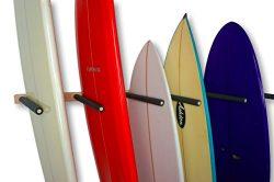 Vertical Surf Storage Rack | 6 Surfboard Wall Mount | StoreYourBoard