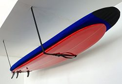 Surf Hi-Line | Adjustable Surfboard Ceiling Storage | StoreYourBoard (X-Large)