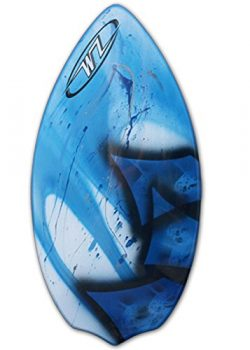 Wave Zone Diamond – Fiberglass Skimboard for Beginners – Blue