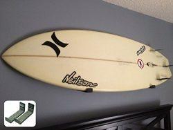 Naked Surf | Minimalist Surfboard Wall Rack | Black Display Rack | StoreYourBoard