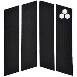 Channel Islands Surfboards Front Traction Pad, Black, One Size