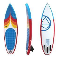 Jimmy Styks AirSurf 6′ Shortboard | Surfboard | 6′ Long, 20″ Wide, 3.2″  ...