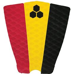 Channel Islands Surfboards Soli Bailey Traction Pad, Red/Yellow/Black, One Size