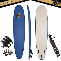 Gold Coast Surfboards – 8'8 Soft Top Foam Surfboard -The Heritage- High Performance  ...