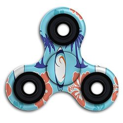 Hand Spinner Toy Surfboard Pattern Long Smooth Fast Spinning For Kids & Adults Sensory Anxie ...
