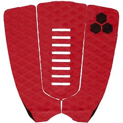 Channel Islands Surfboards Jordy Smith Traction Pad, Red, One Size