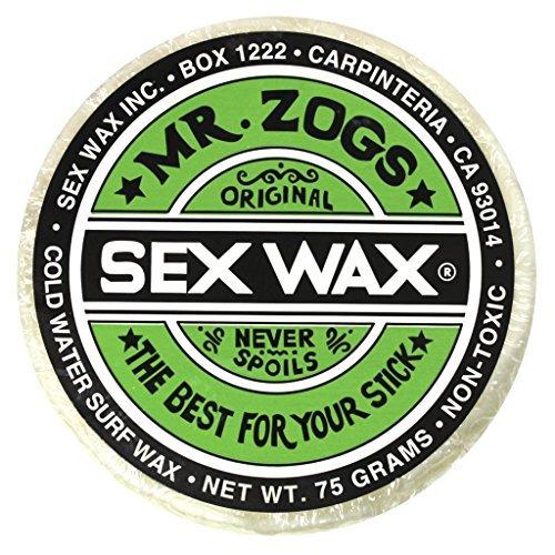 Mr. Zogs Original Sexwax – Cold Water Temperature Coconut Scented (White)