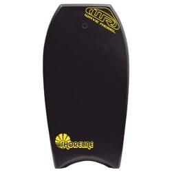 Wave Rebel Malaga Bodyboard, Black, 42