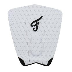 Famous Surf Supply F5 Surf Traction Pad, White