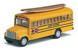 KINSFUN DISPLAY SCHOOL BUS LONG SURF BOARD 5″
