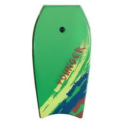 Younger 39 inch Super Bodyboard with IXPE deck, Perfect surfing (Grass Green)