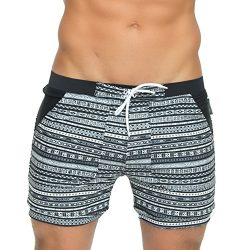 Taddlee Men's Swimwear Swimsuits Long Basic Swim Surf Board Boxer Trunks XXL (M)
