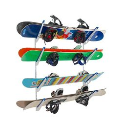 Snowboard Multi Wall Storage Rack | Home and Garage Mount | StoreYourBoard