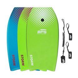 BPS 33″ Green w/ White Dots Bodyboard