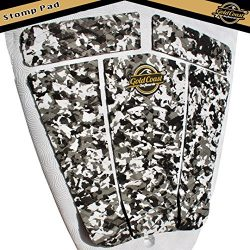 Gold Coast Surfboards – Surfboard Stomp Pad – 5 Piece Traction Pad for Surfboards, W ...