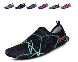 CIOR Women Men's Quick-Dry Water Sports Aqua Swimming Shoes Socks