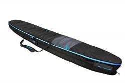 Creatures of Leisure Surfboard Longboard Day Use Bag Charcoal Cyan 10ft