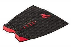 Creatures of Leisure Traction Pad Shortboard Grip Mick Fanning Signature Model Black Red