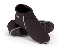 Tilos Neoprene Fin Socks (Gray, L – Size 10.5-11)