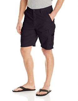 Quiksilver Waterman Men's Maldive 8 Walk Shorts, Black, 42
