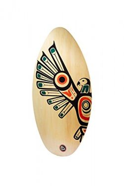 Lucky Bums 322EA30 Wood Skim Board