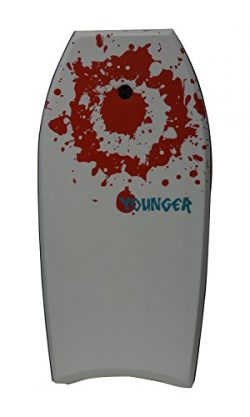 Younger 41 inch Super Bodyboard with IXPE deck, Perfect surfing, White