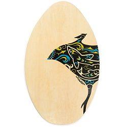 Lucky Bums 322RA30 Wood Skim Board