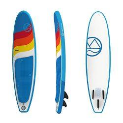 Jimmy Styks AirSurf 8′ Longboard   Surfboard   8′ Long, 22.5″ Wide, 3.2″ ...