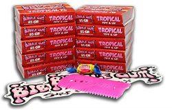 Bubble Gum Surf Wax 10 Pack Surfboard Wax (Tropical, Bubble Gum Surf Wax 10 Pack)