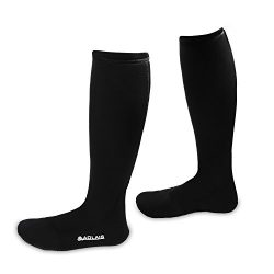 AOLAIS Wetsuits Premium Anti Slipping Neoprene Water Fin Socks 3mm for Water Sports, Snorkeling, ...