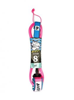 Catch Surf Beater 8′ Leash, Pink/Blue