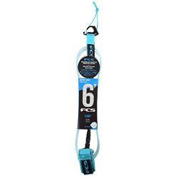 FCS Surfboard Leash 6′ Comp (Blue, 6′ Comp)