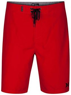 Hurley Men's One & Only 2.0 21″ Boardshorts Gym Red 38