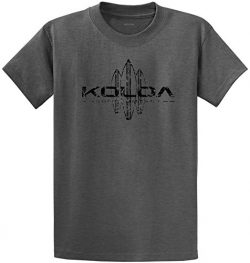 Koloa Surf CO. Vintage Surfboard Logo T-Shirts, DarkHeth/b Green 3X-Large