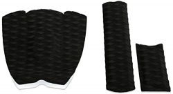 PUNT SURF Ripper Skimboard Traction Pad & Arch Bar – 3 Piece Stomp Pad and Raised Arch ...