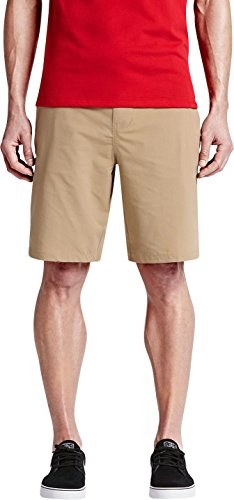 New Hurley Men's Dri-Fit Chino Short Nylon Elastane Natural