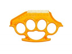 Wax Knuckles Wax Comb for Surfboards (Sunset Orange)