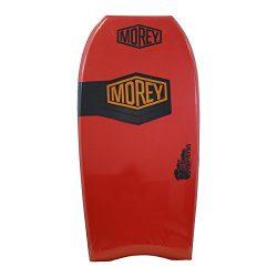 Morey 44″ Big Kahuna Bodyboard with Power Rod Stringer (Red)
