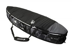 Creatures of Leisure Universal Shortboard Triple Bag Black White 6ft 7in
