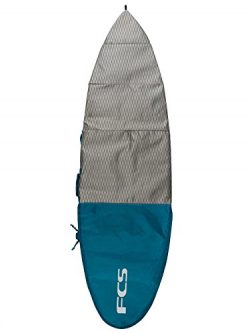 FCS Day All Purpose Dayrunner Surfboard Bag (Teal, 6′ 0″)
