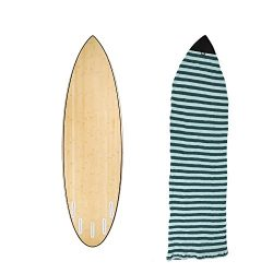 """6'0""""Surfboard Sock Cover 4Colors Light Protective Stretch Sock Bag for your Surf Boa ..."""