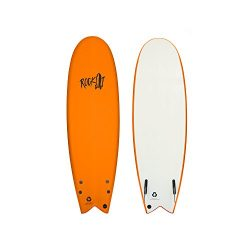 Rock-It 5'8″ ALBERT Surfboard (Orange)