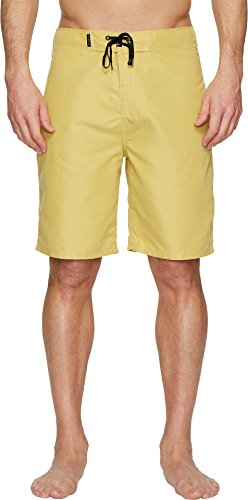 Hurley Men's One & Only 2.0 21″ Boardshorts Buff Gold 38