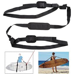 Ueasy SUP Paddleboard Carry Strap and Adjustable Surfboard Storage Sling with Comfortable Should ...
