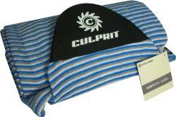 "Culprit Surf ""Protector Pocket"" 8ft 6in Surf Board Sock- Blue//Grey/White Striped &# ..."