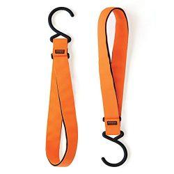 Hudman Works Strap & Hook XL, Bright Orange, 50″